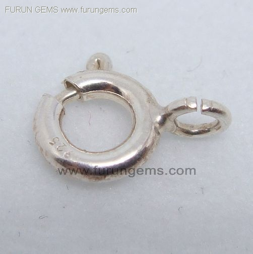 silver 925 ring clasp