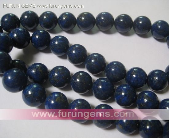 12mm Lapis A round beads