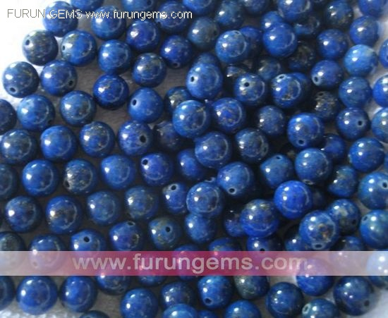 8mm Lapis A round beads