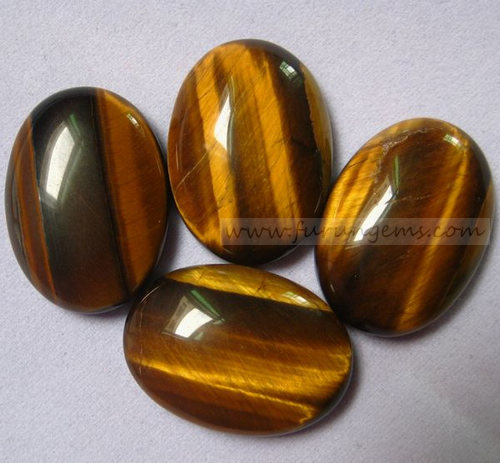 tiger eye oval cabochons 18x25mm