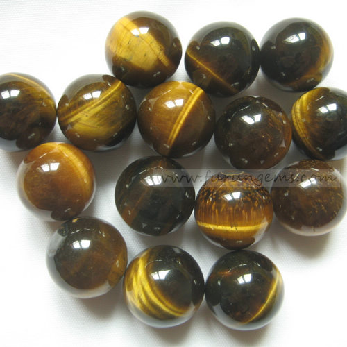 tiger eye sphere/ball 16mm ,no hole
