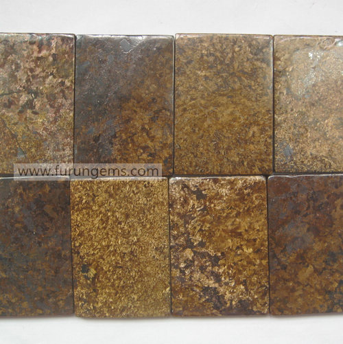 bronzite tile slab 55x35x5mm rectangle