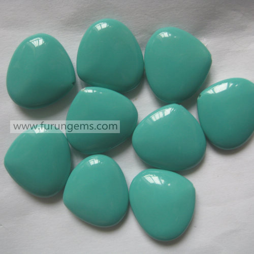 syn turquoise pear 18x16mm